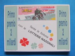 CARTOLINA LOTTERIA NAZIONALE 76° GIRO D'ITALIA 1993 - Biglietti Della Lotteria