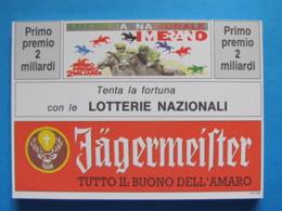 CARTOLINA LOTTERIA NAZIONALE MERANO 1992 - Biglietti Della Lotteria