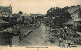 St Germain En Laye - La Scierie - Thème Métier Bois - Belle Animation - St. Germain En Laye