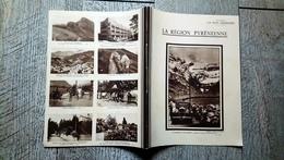 Cahier Du Jour 1938 La Région Pyrénéenne Pyrénées Gavarnie Collection Le Petit Géographe - Blotters