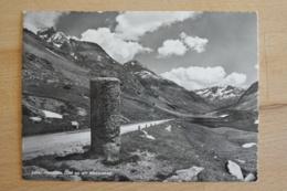 Julier Passhöhe Mit Römersäule Bivio Surses Silvapana Oberhalbstein Engadin Graubünden Schweiz Ansichtskarte - GR Graubünden