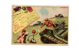 LAB637 - DEALESSANDRI Edizioni Garami Viaggiata 1942 - Guerra 1939-45
