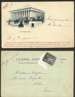 PARIS- LA BOURSE --serie De Cartes Postales EDIFICES DE PARIS La COMPAGNIE MAGGI - Other Monuments
