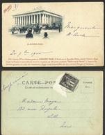 PARIS- LA BOURSE --serie De Cartes Postales EDIFICES DE PARIS La COMPAGNIE MAGGI - France