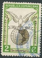 Dominicaine - Yvert N°   407 Oblitéré    -  Po 61506 - Dominicaine (République)