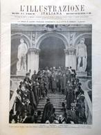L'Illustrazione Italiana 16 Gennaio 1921 Battaglia Fiume Savoia Baviera Venezia - Libri, Riviste, Fumetti