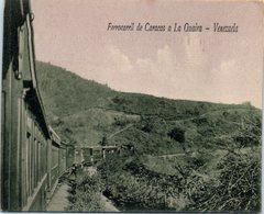 AMERIQUE --  VENEZUELA --  Ferrocarril De Caracas A La  Guaira - Venezuela