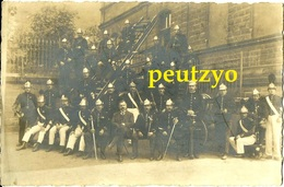 Cpa Photos 57 Moselle Fontoy Fentsch Fensch  Sapeurs Pompiers Tenue De Parade L1/131 - Other Municipalities
