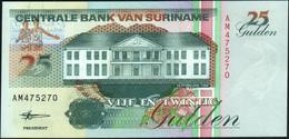 SURINAME - 25 Gulden 10.02.1998 UNC P.138 D - Surinam