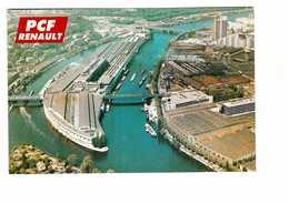 & 92 Boulogne Billancourt Usine Renault Carte éditée Par Section PCF Parti Communiste Français - Boulogne Billancourt