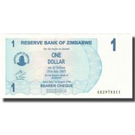 Billet, Zimbabwe, 1 Dollar, 2007, 2007-07-31, KM:37, SPL+ - Zimbabwe