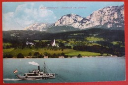 STEINBACH AM ATTERSEE - DAMPFER - Piroscafi