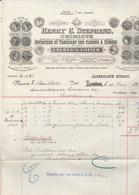 Royaume Uni Facture Illustrée 10/2/1916 Henry C STEPHENS Chimiste Encres à Copier LONDON - United Kingdom