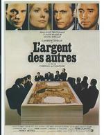 ///  AFFICHE SUR CARTE     ( L 'ARGENT DE SAUTRES ) - Posters On Cards