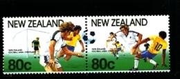 NEW ZEALAND - 1991  FOOTBALL CENTENARY PAIR  MINT NH - Nuova Zelanda