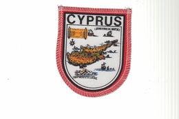 ECUSSON Tissu - CYPRUS - Ecussons Tissu