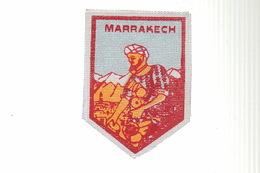 ECUSSON Tissu - MARRAKECH MAROC - Ecussons Tissu