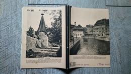 Cahier De Devoirs Hélios 1939 Strasbourg La Petite France Ribeauvillé Bas Rhin - Blotters
