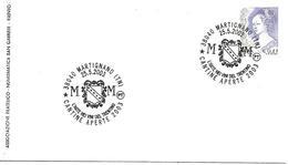 SG0348 - ANNULLO MARTIGNANO - CANTINE APERTE.- 25.5.2003 - 6. 1946-.. Repubblica