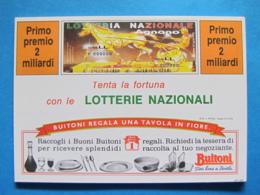 CARTOLINA LOTTERIA NAZIONALE AGNANO 1992 - Biglietti Della Lotteria