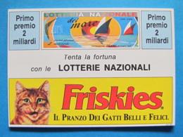 CARTOLINA LOTTERIA NAZIONALE DEL MARE 1992 - Biglietti Della Lotteria