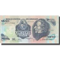 Billet, Uruguay, 50 Nuevos Pesos, KM:61a, SPL+ - Uruguay