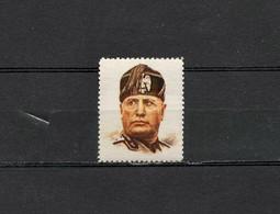 Deutsches Reich Nazi Hitlerjugend Poster Swastika Cinderella Vignette Propaganda Revenue Postfrisch - Erinnofilia