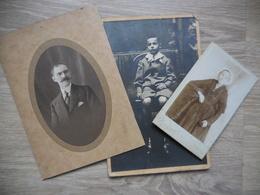 Lot 3 Cartes Photos Dont 1 Photographe Cardinal Vannes - Fotografie En Filmapparatuur