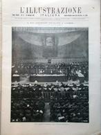 L'Illustrazione Italiana 23 Gennaio 1921 Mozart Socialismo Livorno Cheren Soviet - Books, Magazines, Comics