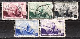 466/70  Leopold III Aviateur - Série Complète - Oblit. - LOOK!!!! - België