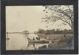 CPA Laos Asie Non Circulé Indochine Carte Photo RPPC - Laos