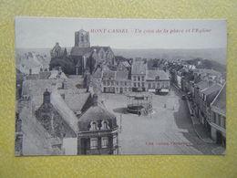 CASSEL. Le Mont Cassel. La Place De L'Eglise. - Cassel