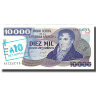 Billet, Argentine, 10 Australes, KM:322b, SPL+ - Argentine