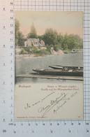 HUNGARY (then Austria-Hungary) - BUDAPEST, Margit-sziget (Margaret Island, 1903.)  - Vintage POSTCARD - (APAT2-86) - Ungarn