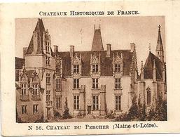 Image Chocolat Casino Série Châteaux Historiques De France N°56 Château Du Percher (Maine Et Loire) - Chocolat