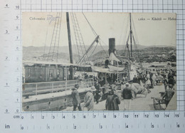 CROATIA (than Austria-Hungary) - CRIKVENICA, Port, 1913.  - Vintage Photo POSTCARD - (APAT2-85) - Croatie