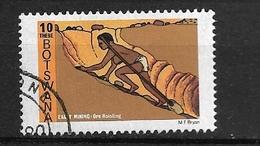 BOTSWANA   -1980 Early Mining     Used  Ore Hoisting - Botswana (1966-...)