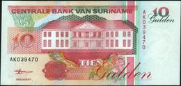 SURINAME - 10 Gulden 10.02.1998 UNC P.137 B - Surinam