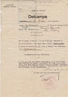 Document -  Consignes Affectation D'un Infirmière De La Défense Passive -  Rabat - 1941 - Documents
