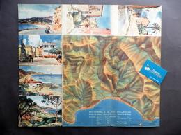 Guida Di Spotorno Azienda Autonoma Soggiorno Carta 6 Cartoline Raimondi 1938 - Vecchi Documenti