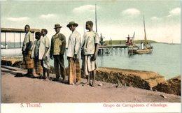 AFRIQUE --  SAO TOME E PRINCIPE - Grupo De  Carregadores D'Alfandega - Sao Tome Et Principe