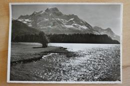 Silsersee Sils Maria Im Engadin Maloja Kanton Graubünden Schweiz Ansichtskarte - GR Graubünden