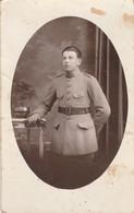 Militaria : Carte Photo . : Soldat 154é Regt. : ( Format 13,8cm X 8,7cm ) - Guerra 1939-45