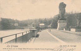 CPA - Belgique - La Gileppe - La Route Du Barrage - Gileppe (Barrage)