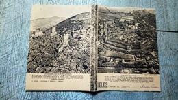 Cahier De Devoirs  Hélios 1939 Cité De Carcassonne Les Quatre Châteaux De Lastours - Blotters