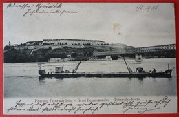 SERBIA - PETROVARADIN , SCHIFF KLARA - Piroscafi