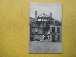 DUNKERQUE. Les Ruines De La Guerre 1914-1918. La Rue Du Lion D'Or. - Dunkerque