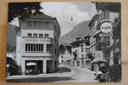 Albergo Centrale Faido Leventina Tessin Schweiz Ansichtskarte - TI Tessin