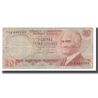 Billet, Turquie, 20 Lira, 1970, 1970-01-14, KM:187b, TB - Turquie