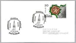 EXFILNA'88. IGLESIA ROMANICA DE SAN PEDRO - OLITE. Pamplona, Navarra, 1988 - Iglesias Y Catedrales